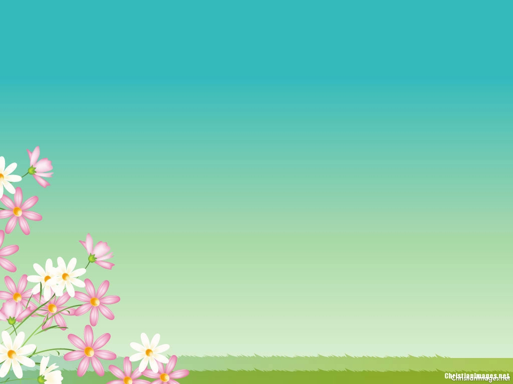 Flower Spring Background