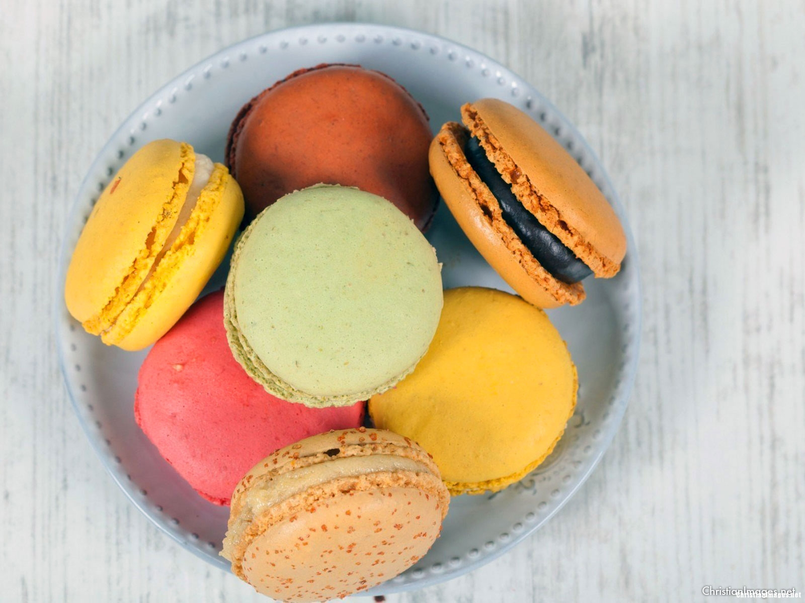 Macaroon Background for Powerpoint