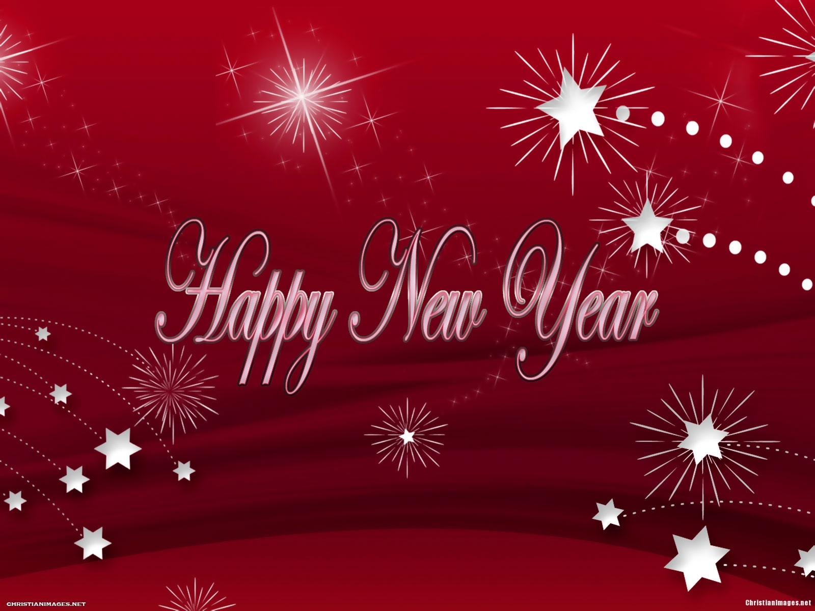 New Year Red Background